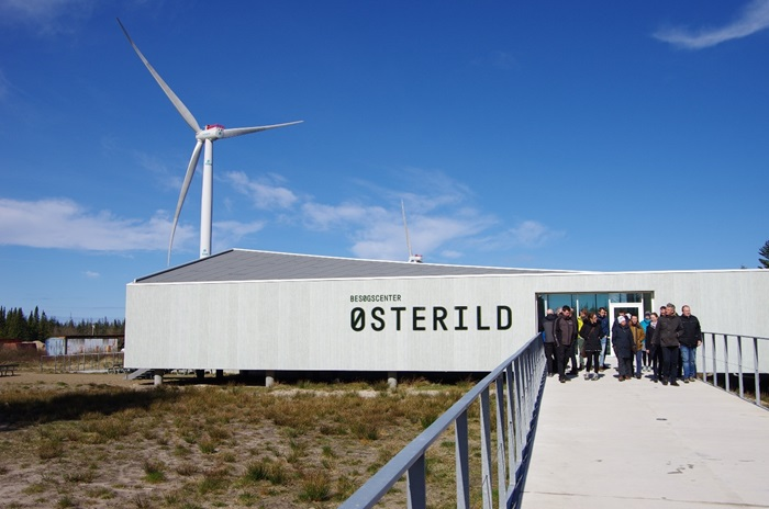 InnoWind project participants and end users visiting Østerild Test Centre